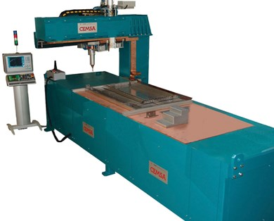 ERW machines for spot and projection welding CEMSA ROBOSIDE PS