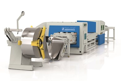 COMBINED PUNCHING MACHINE-LASER SYSTEM Dallan ELXN combo