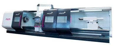 Horizontal precision turning centers with CNC MCM АTL HEAVY PLUS