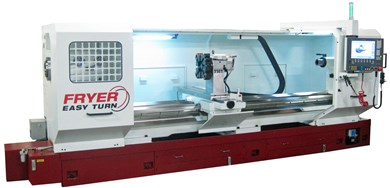 Horizontal bed turning machines with up-to-the-minute CNC conversational mode FRYER ET-XL