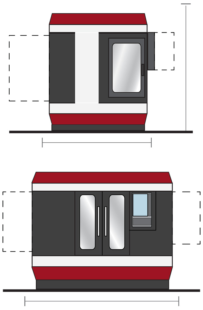 Vertical machining centers with conversational CNC control FRYER ХР
